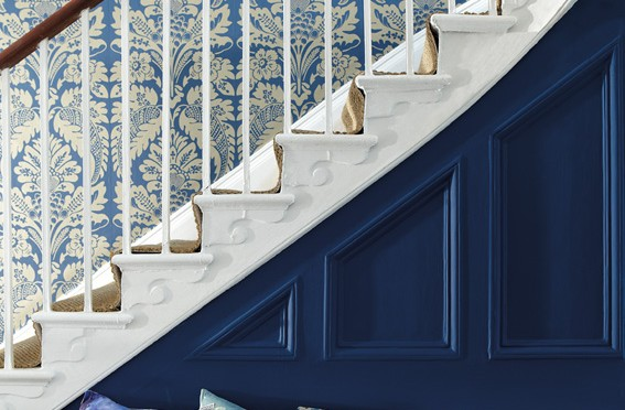 Little Greene Wilton Wallpaper – Sovereign