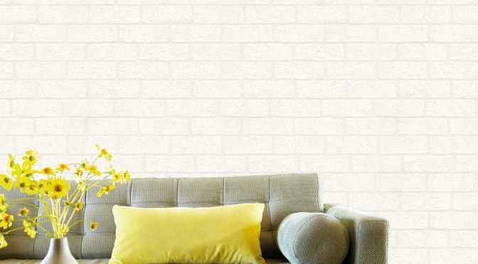 Belgravia Richmond Brick Textured Vinyl Wallpaper