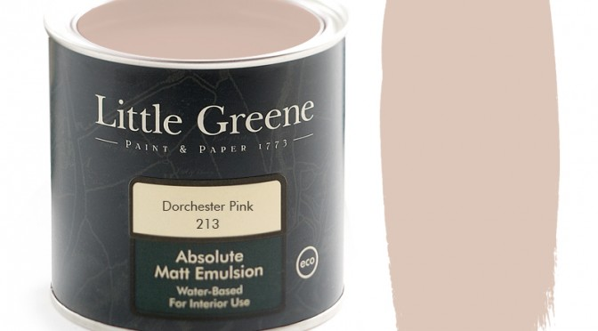 Little Greene Absolute Matt Emulsion – Dorchester Pink