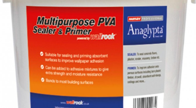 Wallrock Multipurpose PVA Sealer & Primer 2.5kg