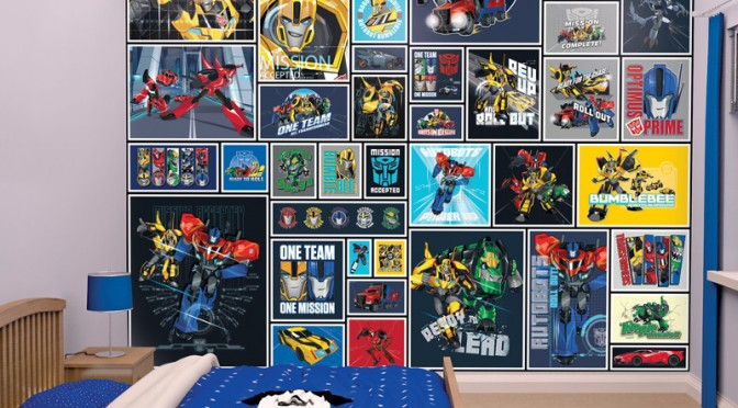 Walltastic Transformers Robots in Disguise Wallpaper
