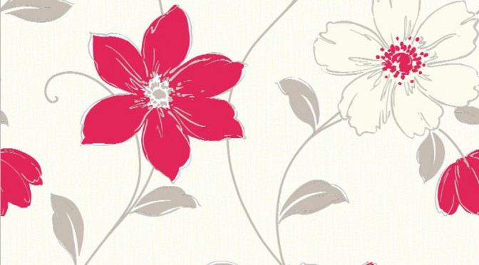 Arthouse Anouska Floral Wallpaper – Red