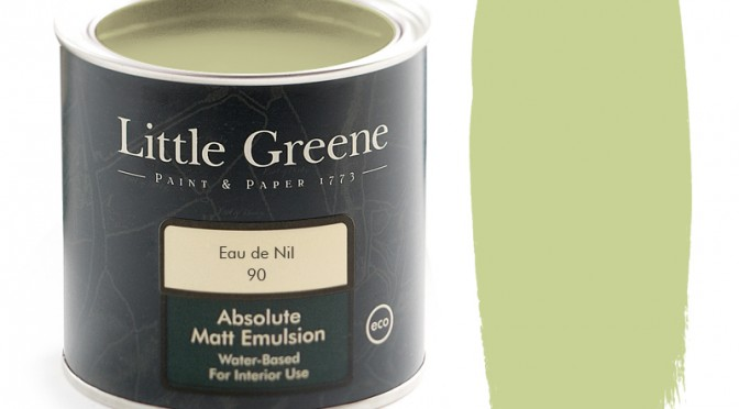 Eau de Nil and Little Greene Paint