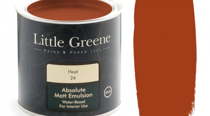 Intelligent Matt Emulsion – Heat from Little Greene