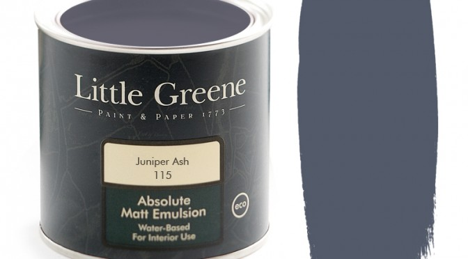 Little Greene Intelligent Matt Emulsion Juniper Ash