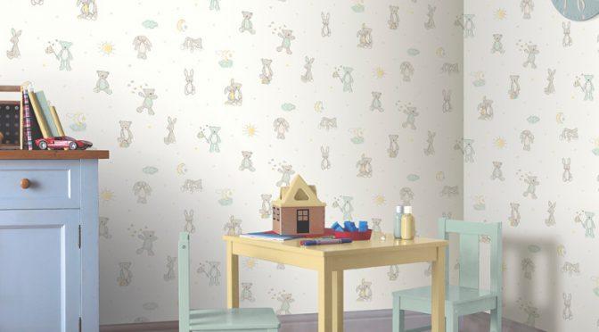Teddy Bear Wallpaper And Arthouse Bear Hugs
