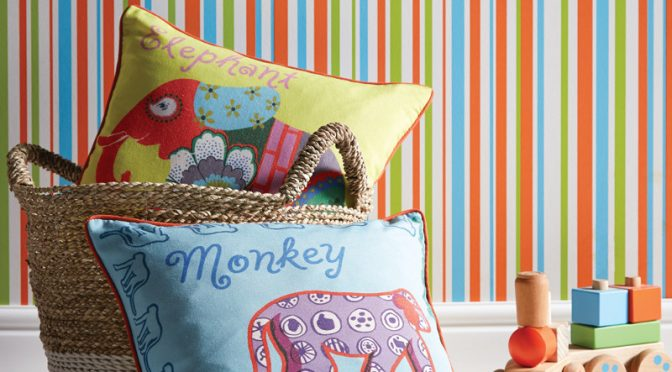Arthouse Earn Stripes Wallpaper – Multi-coloured