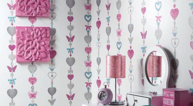 Tiffany Stripe Wallpaper – Arthouse White