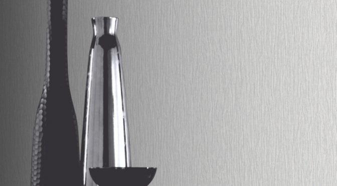 Arthouse Samba Plain Wallpaper – Silver 405901