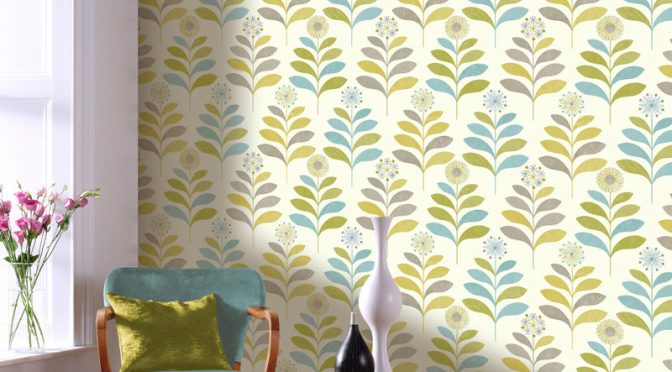 Arthouse tamara leaf wallpaper teal and green - Art house wallpaper uk ...