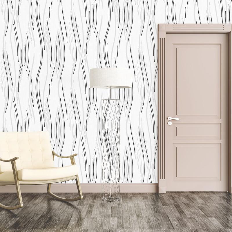 Direct Wallpapers Shimmer Wave Glitter Wallpaper