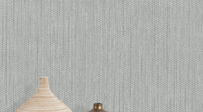 Belgravia Decor Dahlia Texture Wallpaper – Silver