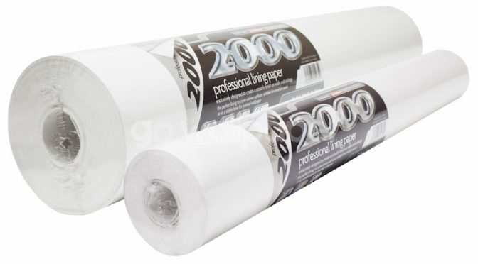 2000 Grade Lining Paper Professional  – BOX DEALS