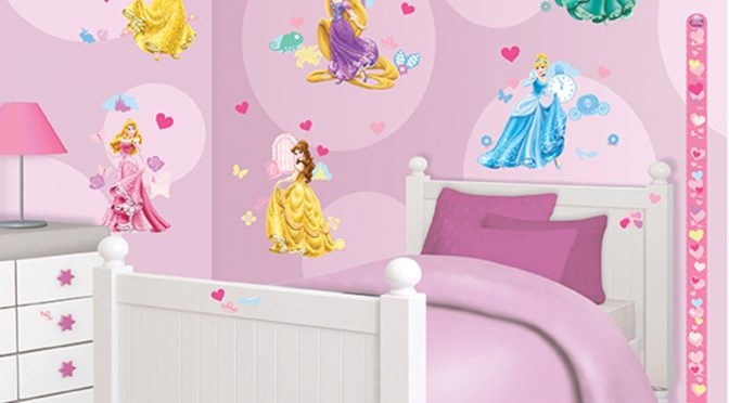 Walltastic Disney Princess Room Decor Kit