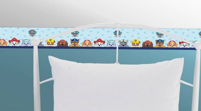 Paw Patrol Multi Self-Adhesive Border by Debona