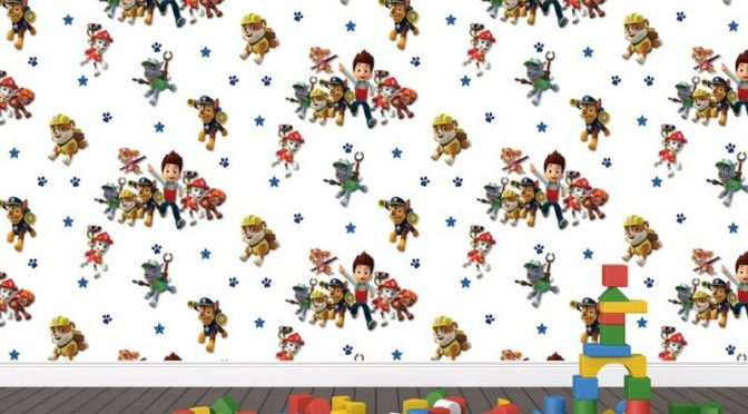 Paw Patrol Multi Wallpaper Adding A Fun Touch