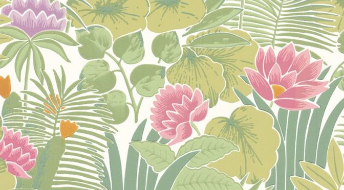 Little Greene Reverie Wallpaper in Jardin – Meditate in Style
