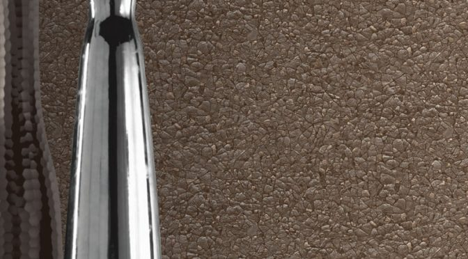 Arthouse Piedmont Crushed Texture Chocolate Wallpaper