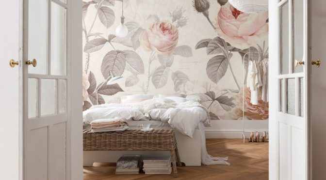 Komar La Maison Wall Mural For That Feminine Touch