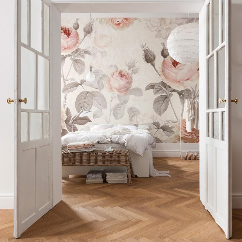 komar la maison wall mural for that feminine touch