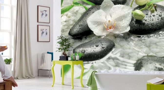 Komar Pure Wall Mural – Tranquil Moments At Home