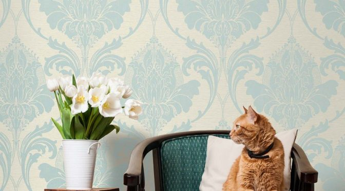Feature wall archives go decorating for Duck egg dining room ideas