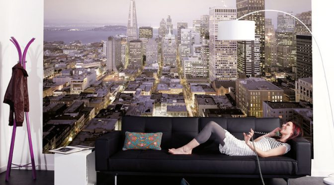 Komar Urban Wall Mural – City Scapes In Your Home