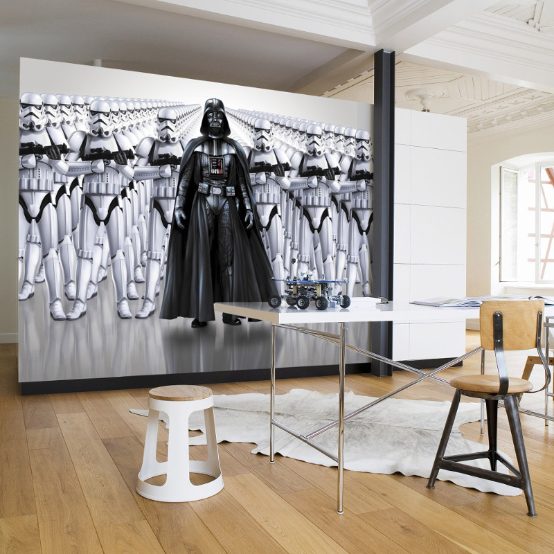 komar star wars imperial force wall mural stunning designs. Black Bedroom Furniture Sets. Home Design Ideas