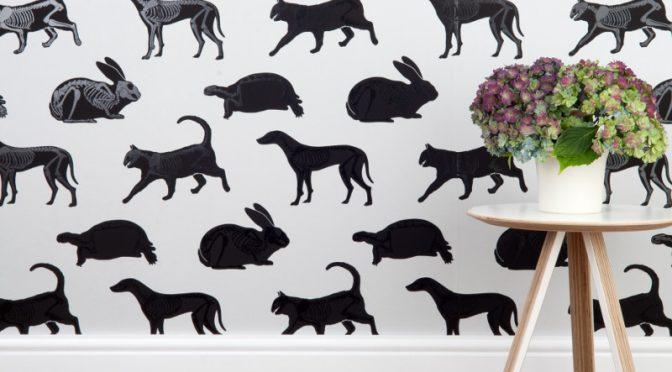 PaperBoy Animal Magic Grey Wallpaper – Boys Bedroom