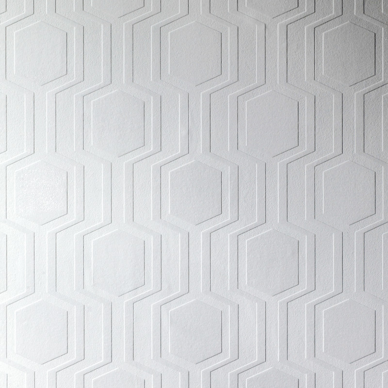 Textured Wallpaper For Bathrooms 2017: Anaglypta Luxury Textured Vinyl Wallpaper Geo