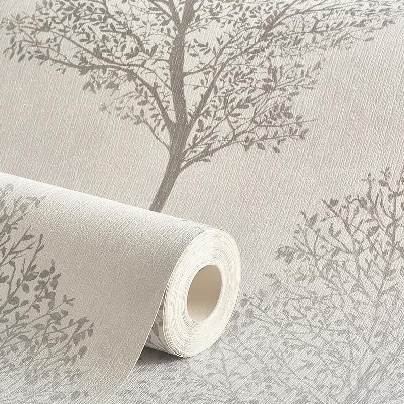 Arthouse Wonderland Tree Mono Grey Glitter Wallpaper