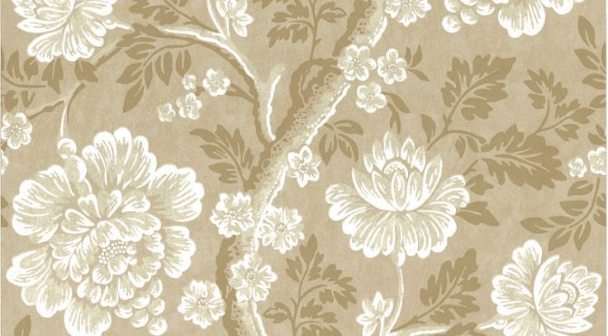 Little Greene Gustav Wallpaper in Mudan – Tree Wallpaper