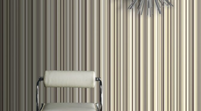 Arthouse Sophia Stripe Wallpaper in Neutral – Adding Style