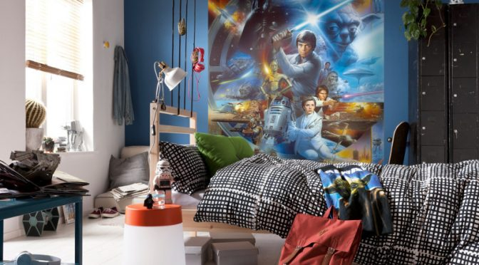 Luke Skywalker Wall Mural – Komar Star Wars Adding Drama