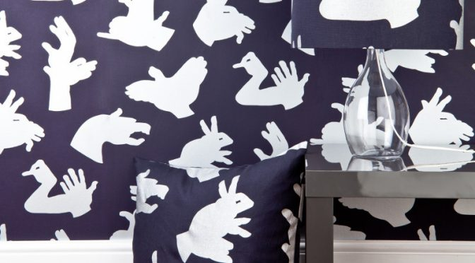 PaperBoy Hand Made Purple Wallpaper – Fun and Character