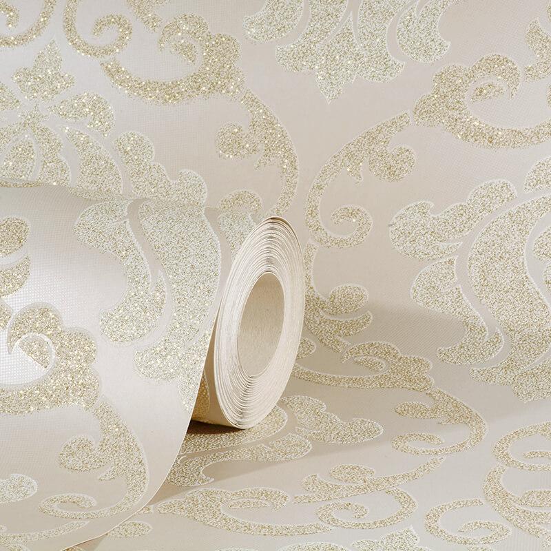 Bedroom Wallpaper Cream
