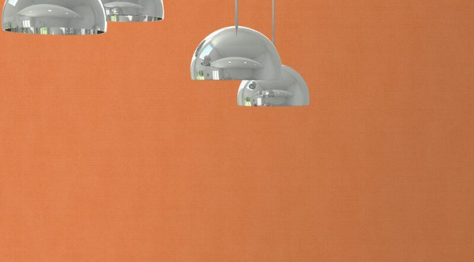 Muriva Carus Texture Orange Wallpaper