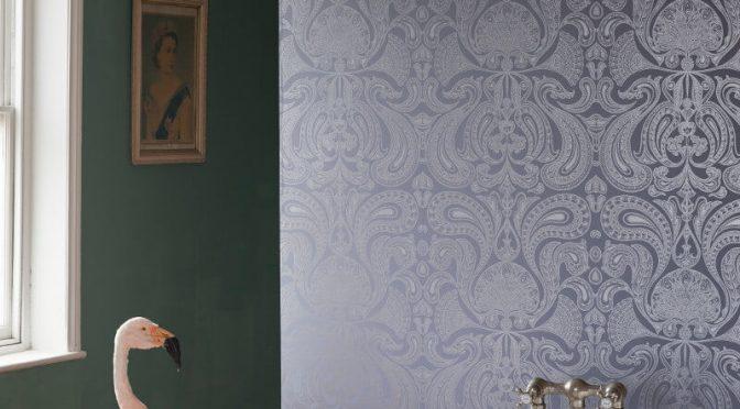 Cole & Son Malabar Silver/Grey Wallpaper
