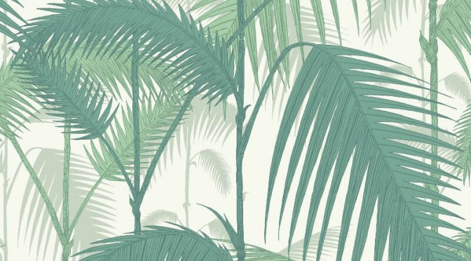 Palm Jungle Emerald Green Wallpaper – Cole & Son