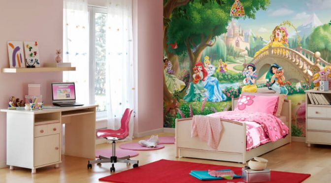 Komar Disney Princess Palace Pets Wall Mural
