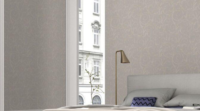 Erismann Cassiopeia Motif Glitter Wallpaper