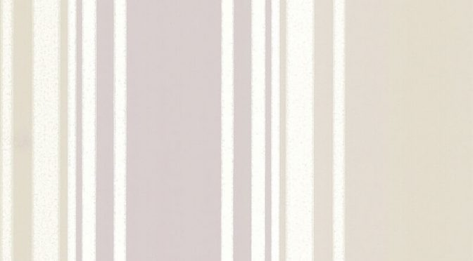 Little Greene Tented Stripe Wallpaper in Dawn