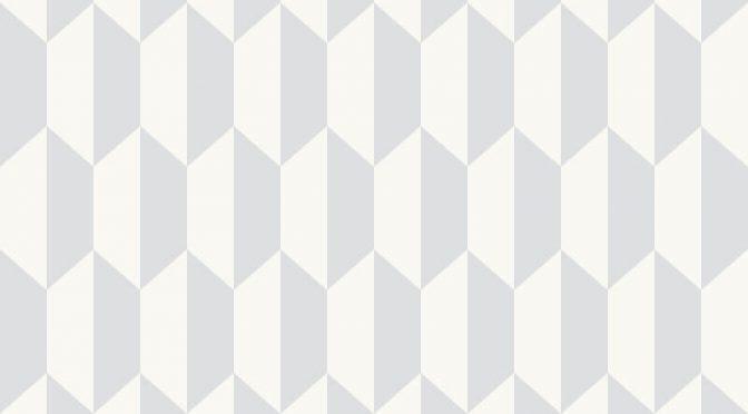 Cole & Son Petite Tile Soft Grey Wallpaper