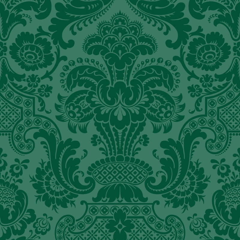 Petrouchka green wallpaper cole son mariinksy wallpaper collection - Cole son ...
