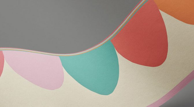 Cole & Son Scaramouche Candy Wallpaper Border
