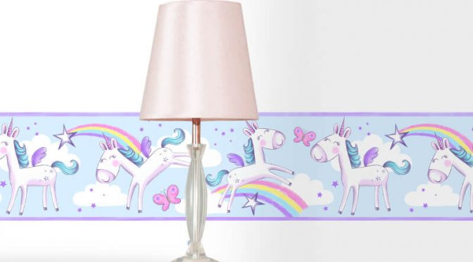 Fine Decor Unicorn Multi Wallpaper Border