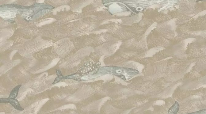 Cole & Son Melville Pearl Wallpaper