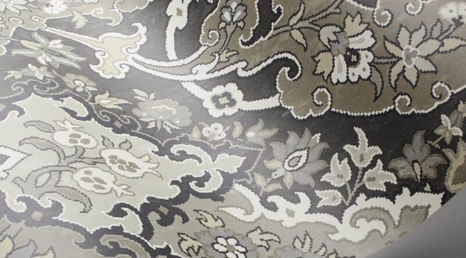 Cole & Son Pushkin Charcoal Wallpaper