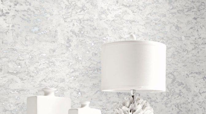 Pear Tree Cork Effect Cool Grey Wallpaper