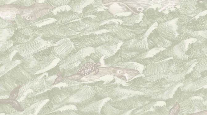 Cole & Son Melville Green Wallpaper